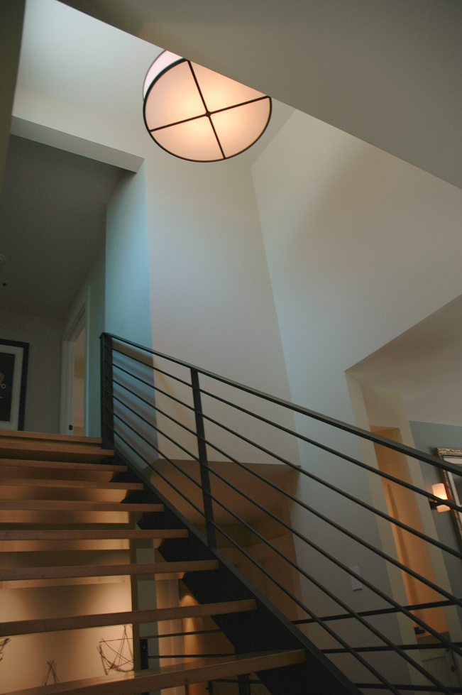 Sonoma, Stairs, metal railing, steal railing, Contemporary Interior Design, Remodel, Modern stairs, Interior design, High end