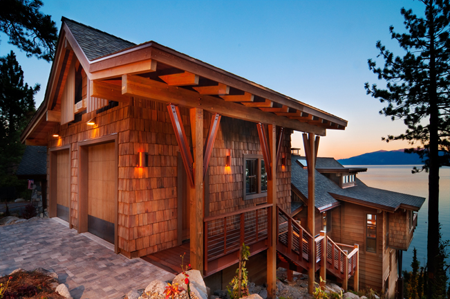 Lake Tahoe, San Francisco Interior Design, Interior Architecture, Cabin, modern cabin, contemporary kitchen, wood ceiling, open living, grand room, open loft, loft
